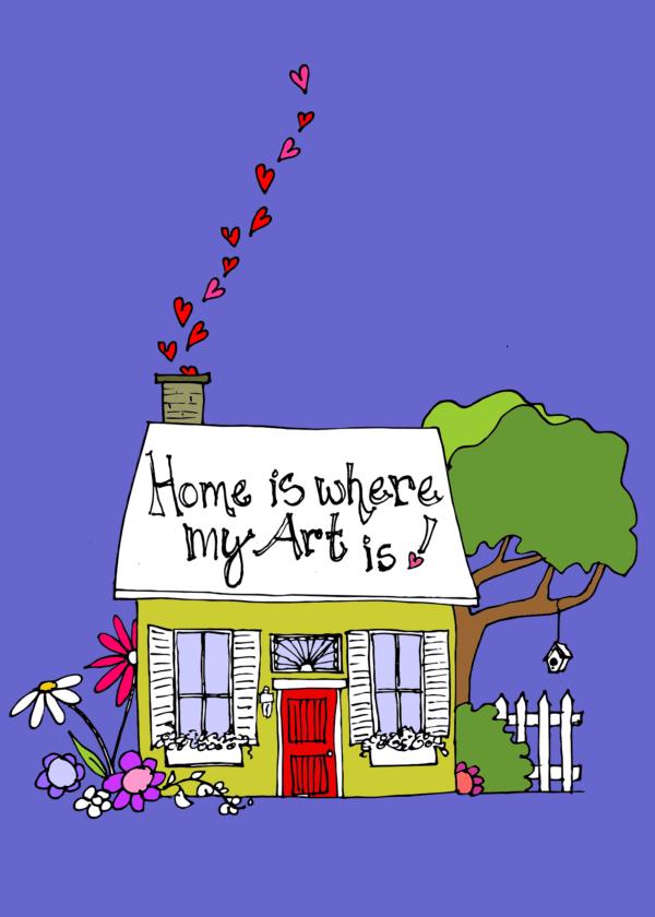 Colorful flower watercolors, Colorful acrylic paintings, Colorful mixed media, Colorful fiber art, Maine artist, Awakened artist, online art tutorials, Bold colorful art, Joyful art, High vibration art, Lobster buoy art, Ankylosing Spondylitis Artist
